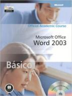 MICROSOFT OFFICE WORD 2003 BASICO - COM CD