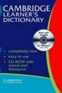 CAMBRIDGE LEANER S DICTIONAY BOOK WITH - CD ROM