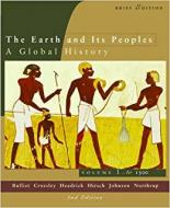 THE EARTH AND ITS PEOPLE: A GLOBAL HISTORY TO 1550