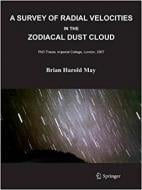 A SURVEY OF RADIAL VELOCITIES IN THE ZODIACAL DUST