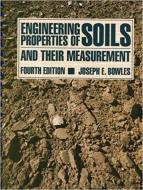 Engineering Properties of Soils and their Measurement Fourth Ed.