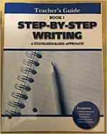 STEP BY STEP WRITING 1 - TEACHER S GUIDE