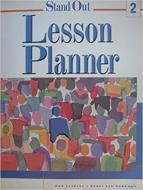 Stand Out. Lesson Planner